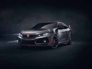 Foto Delantera Honda Civic-type-r-prototype Concept 2017