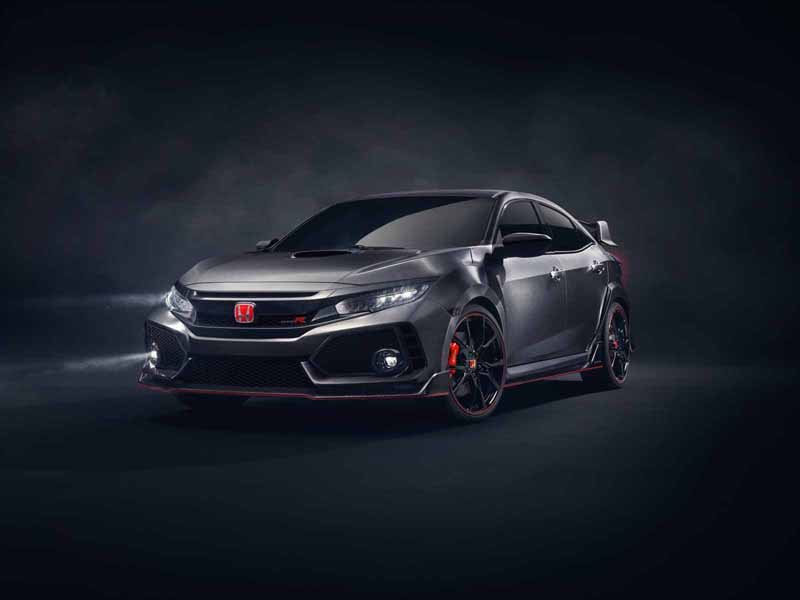 Foto Delantera Honda Civic Type R Prototype Concept 2017