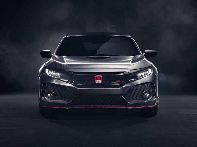 Foto Exteriores (1) Honda Civic-type-r-prototype Concept 2017