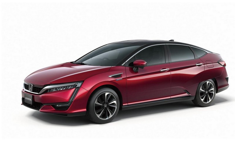 Foto Exteriores Honda Clarity-fuel-cell Sedan 2016