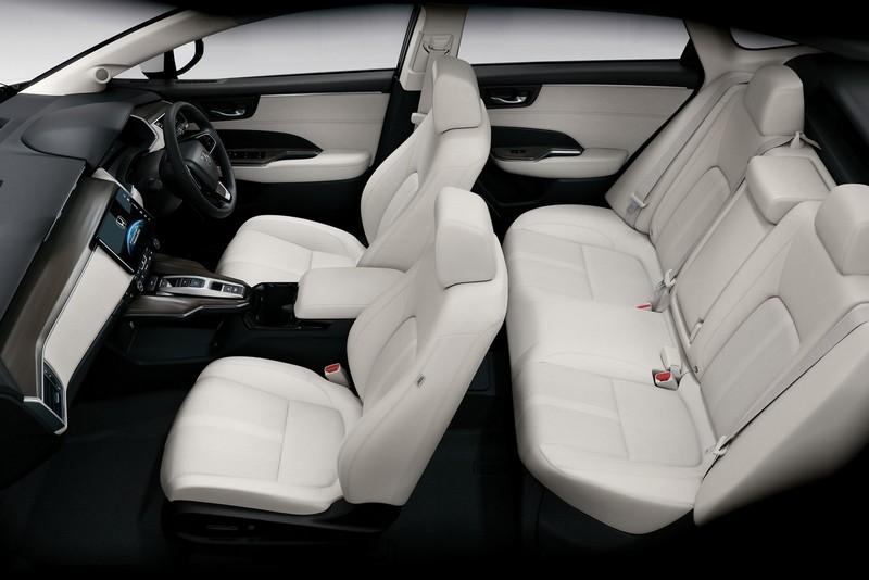 Foto Interiores Honda Clarity Fuel Cell Sedan 2016