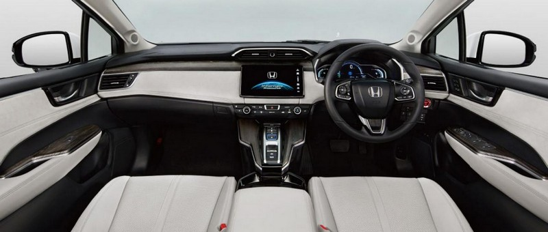 Foto Interiores Honda Clarity-fuel-cell Sedan 2016