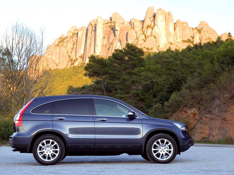 Foto Lateral Honda Cr V Suv Todocamino 2008