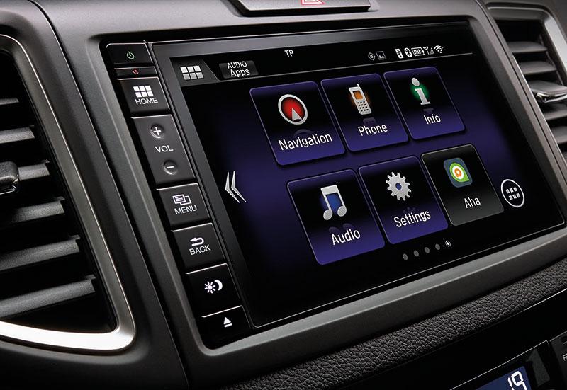 Foto Interiores Honda Cr V Suv Todocamino 2015
