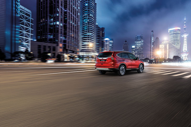 Trasera Honda CR-V