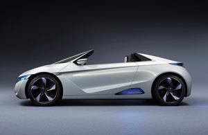 Foto Perfil Honda Ev Concept 2012