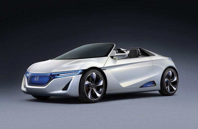 Foto Delantera Honda Ev Concept 2012