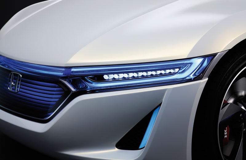 Foto Detalles Honda Ev Concept 2012