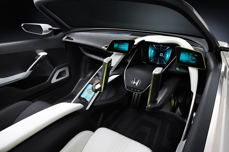 Foto Salpicadero Honda Ev Concept 2012