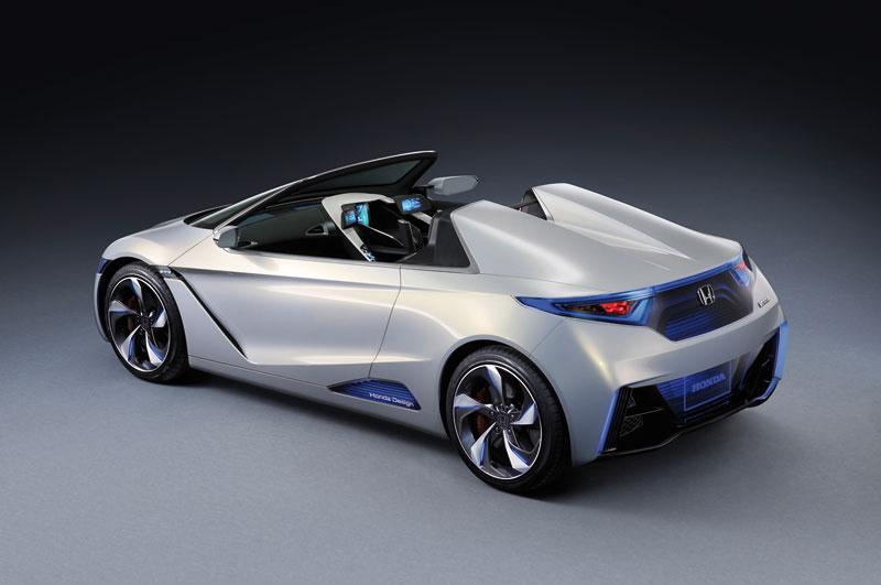 Foto Trasera Honda Ev Concept 2012