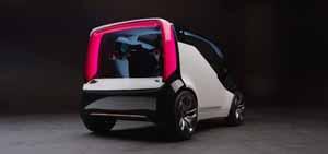 Foto Trasera Honda Neuv Concept 2017