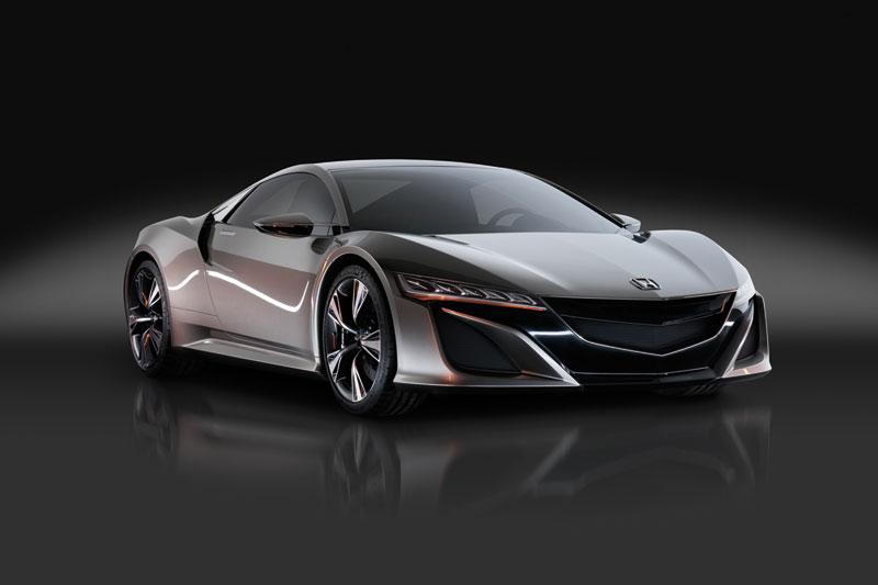 Foto Delantera Honda Nsx Concept 2012