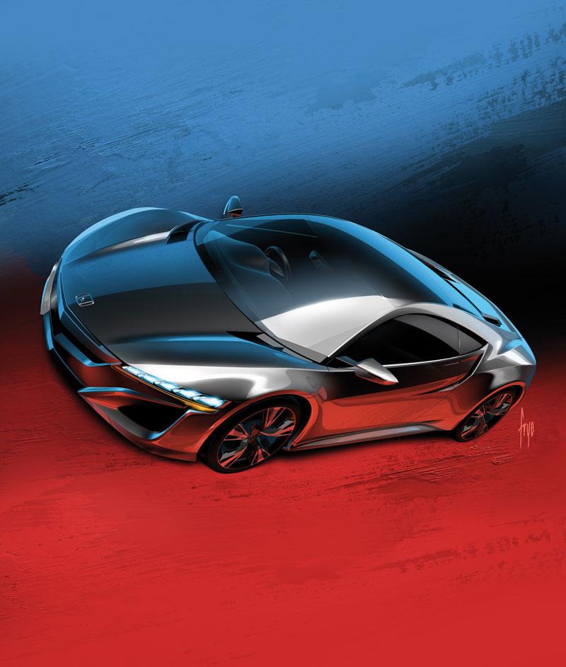 Foto Exteriores Honda Nsx Concept 2012