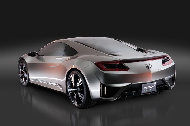 Foto Trasera Honda Nsx Concept 2012