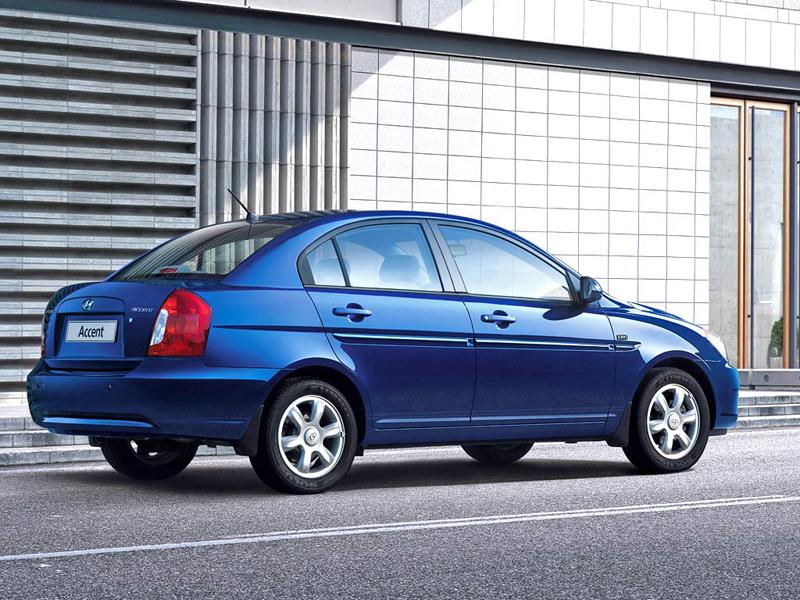 Foto Trasero Hyundai Accent Sedan