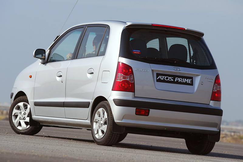 Foto Trasero Hyundai Atos Dos Volumenes
