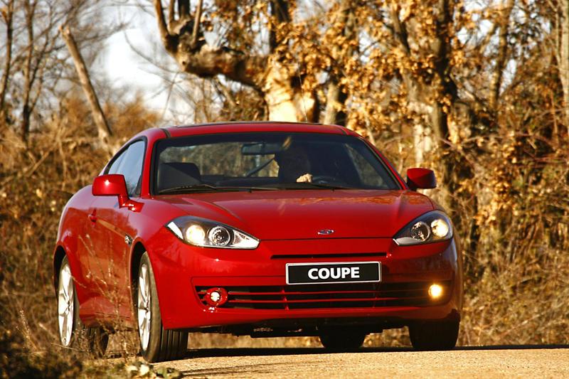 Foto Delantero Hyundai Coupe Cupe