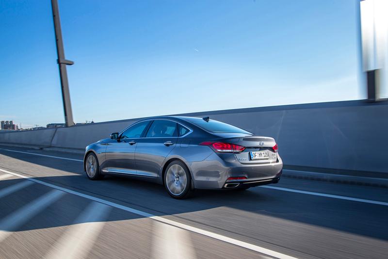 Foto Exteriores Hyundai Genesis Berlina 2014