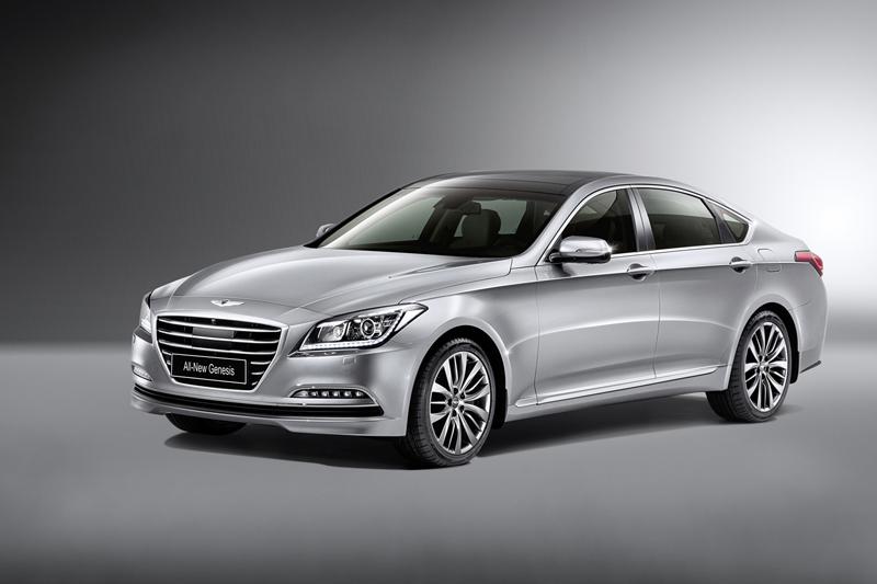 Foto Perfil Hyundai Genesis Berlina 2014