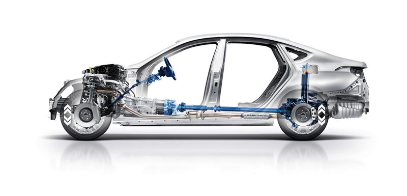 Foto Tecnicas Hyundai Genesis Berlina 2014