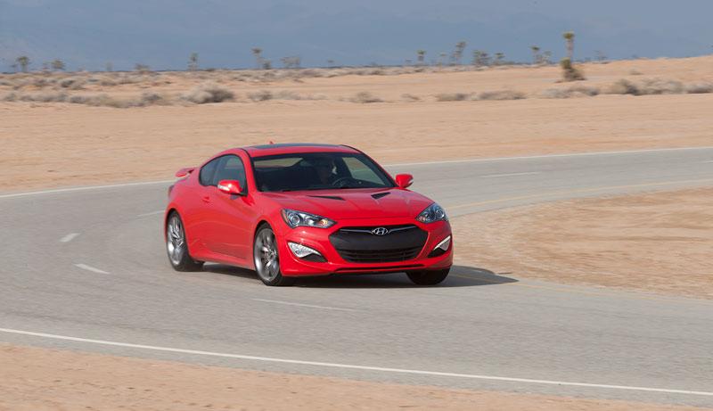 Foto Exteriores Hyundai Genesis Cupe 2012