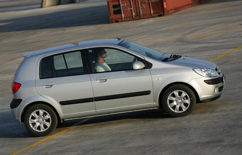 Foto Perfil Hyundai Getz Dos Volumenes