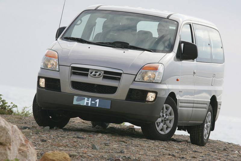 Foto Delantero Hyundai H1 Monovolumen 2000