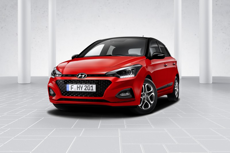 Foto Delantera Hyundai I 20 Dos Volumenes 2018