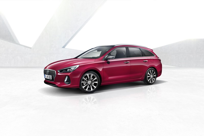 Hyundai i30 Wagon 2017 vista delantera