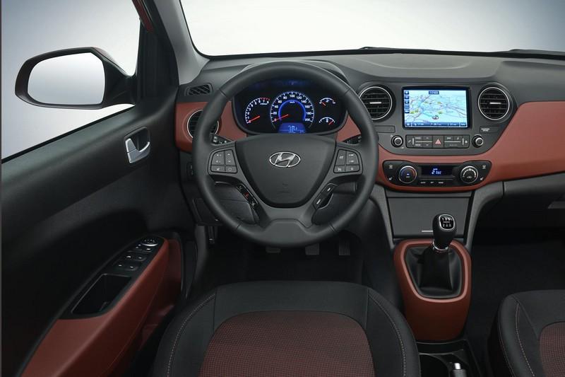 Imagen salpicadero Hyundai i10