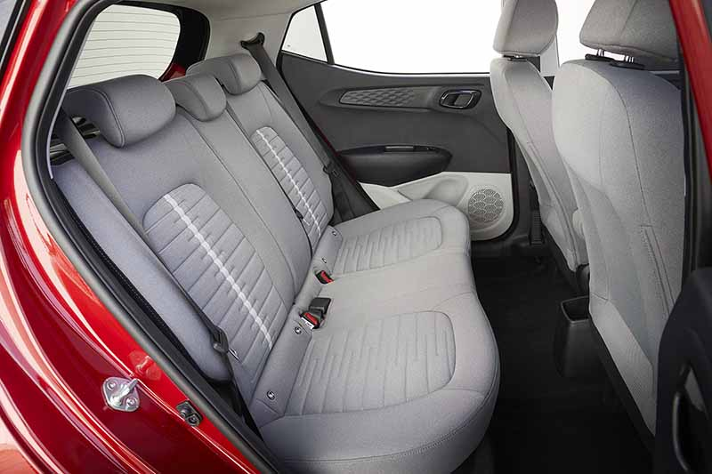 Foto Interiores Hyundai I10 Dos Volumenes 2020