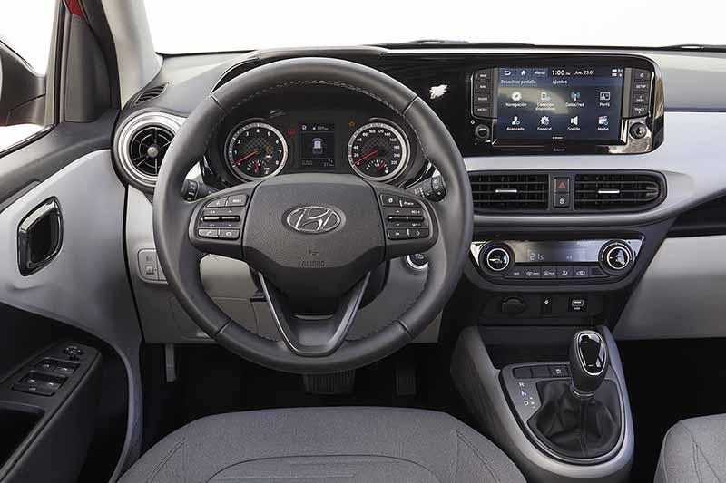 Foto Salpicadero Hyundai I10 Dos Volumenes 2020