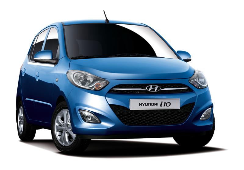 Comparativa Hyundai i10 vs Chevrolet Spark