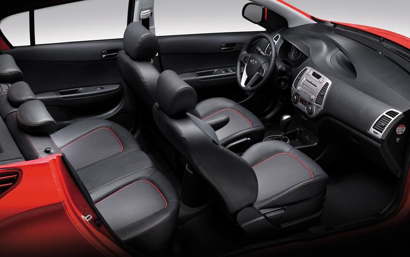 Foto Interiores Hyundai I20 Dos Volumenes 2008