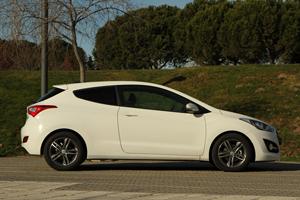 Hyundai i30 de tres puertas en el Sal�n del Autom�vil de Par�s 2012