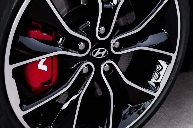 Hyundai i30 Fastback N, foto frenos