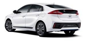 Foto Trasera Hyundai Ioniq Sedan 2016