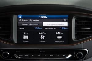 Foto Detalles Hyundai Ioniq-electrico Sedan 2017