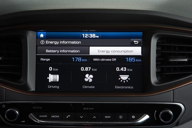 Foto Detalles Hyundai Ioniq Electrico Sedan 2017