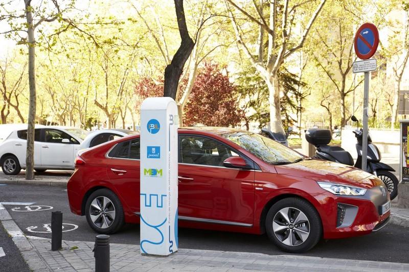Foto Exteriores Hyundai Ioniq Electrico Sedan 2017