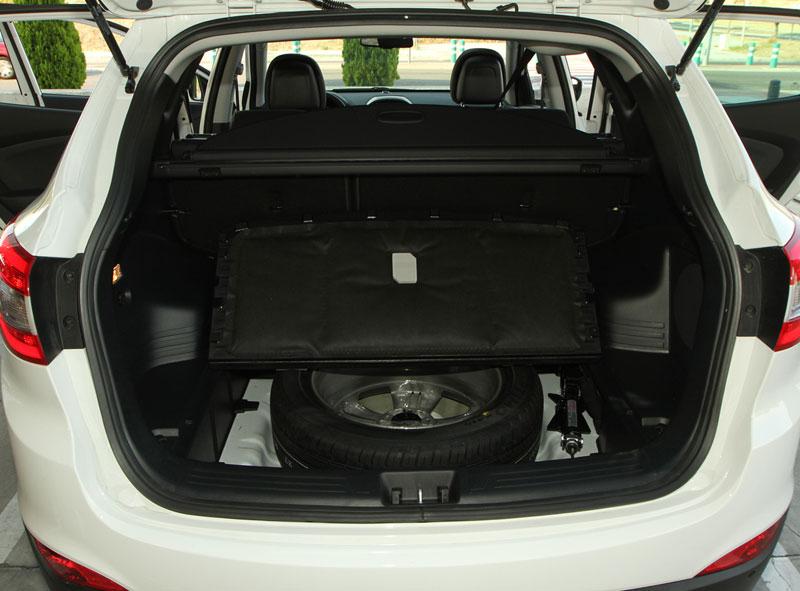 Foto Interiores Hyundai Ix35 Suv Todocamino 2013