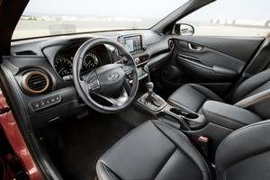 Foto Interiores Hyundai Kona Suv Todocamino 2017