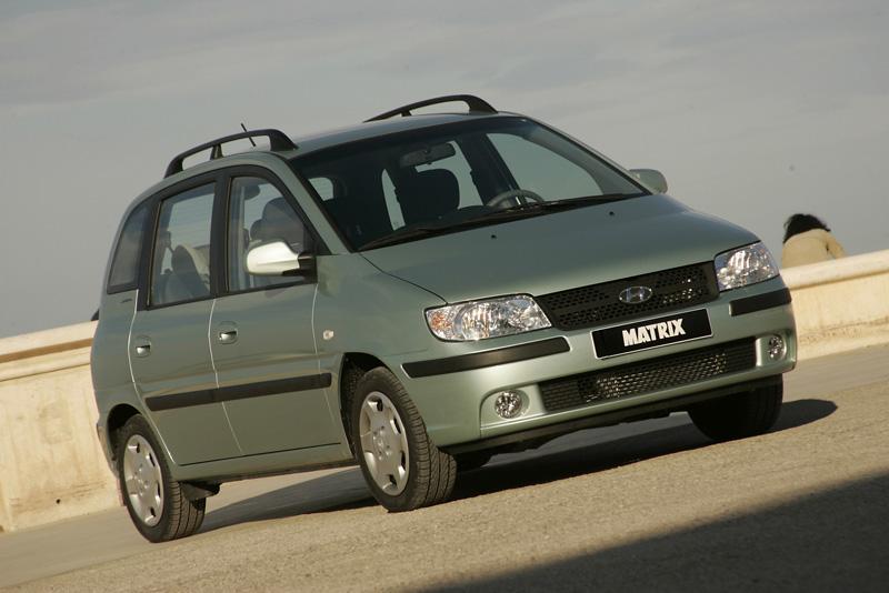 Foto Delantero Hyundai Matrix Monovolumen 2005
