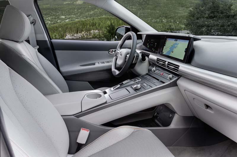 Hyundai Nexo 2018, foto interior