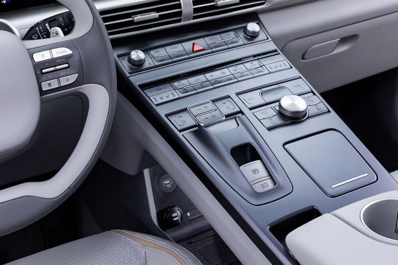 Foto Interiores Hyundai Nexo Suv Todocamino 2018