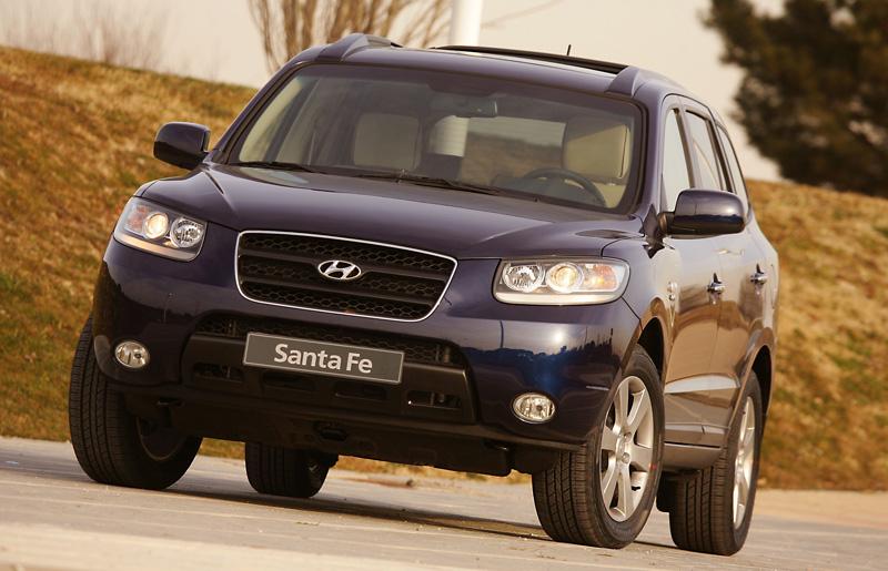 Foto Delantero Hyundai Santa Fe Suv Todocamino 2006