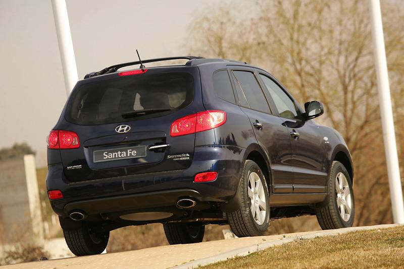 Foto Trasero Hyundai Santa Fe Suv Todocamino 2006