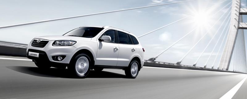 Foto Lateral Hyundai Santa Fe Suv Todocamino 2010