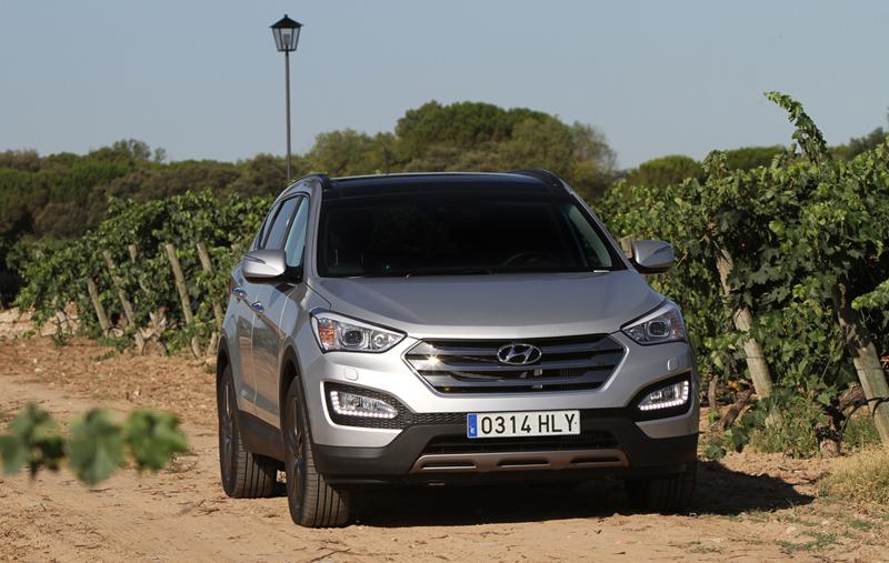 Foto Exteriores Hyundai Santa Fe Suv Todocamino 2012