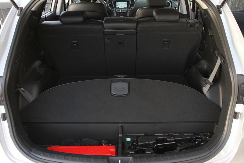 Foto Interiores Hyundai Santa Fe Suv Todocamino 2012